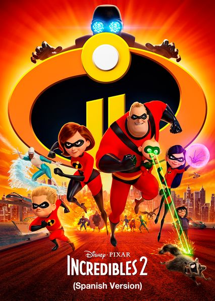 Incredibles 2 (Spanish Version) on Netflix USA