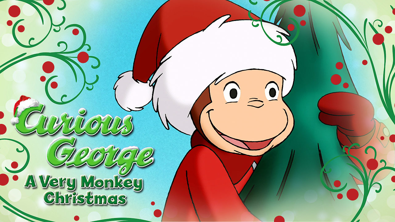 Curious George Christmas.Is Curious George A Very Monkey Christmas Available To