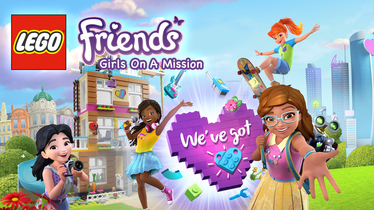 Is Lego Friends Girls On A Mission Available To Watch On Netflix