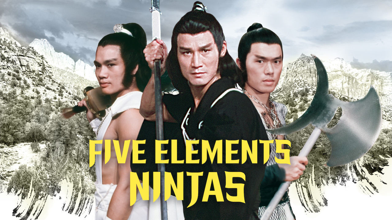 Five Elements Ninjas on Netflix USA