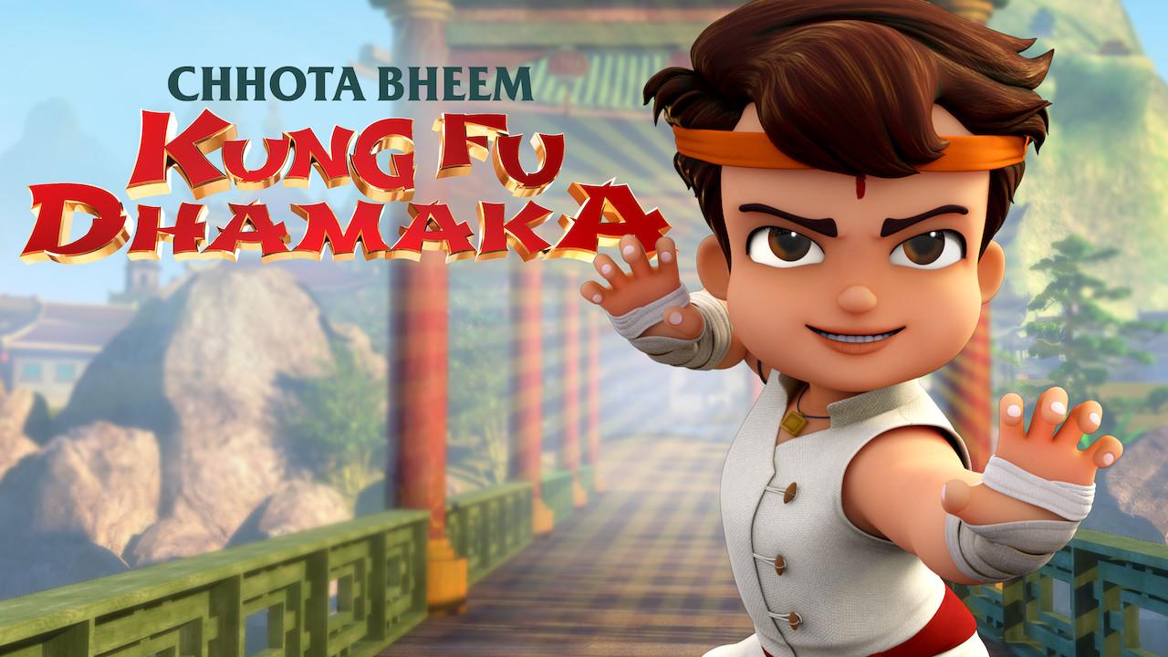 Chhota Bheem Kungfu Dhamaka on Netflix USA