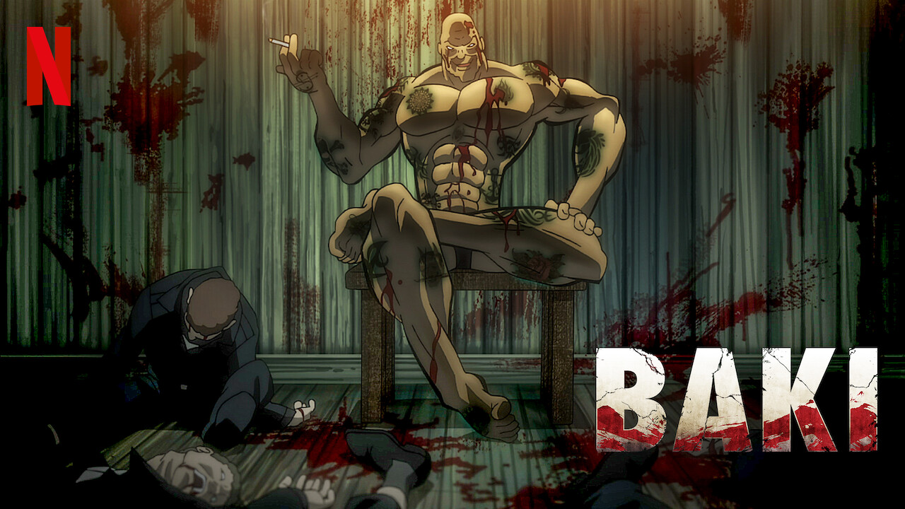 Is 'BAKI' available to watch on Netflix in America
