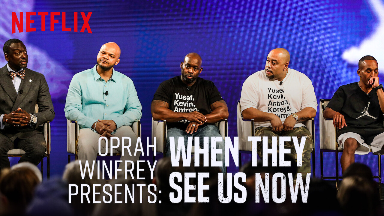 Oprah Presents When They See Us Now on Netflix USA