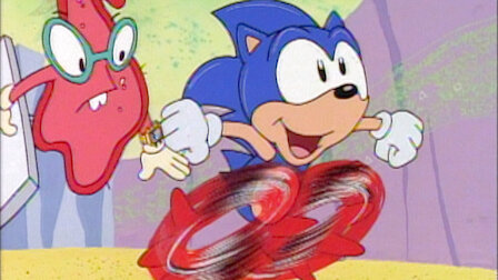 The Adventures Of Sonic The Hedgehog Netflix