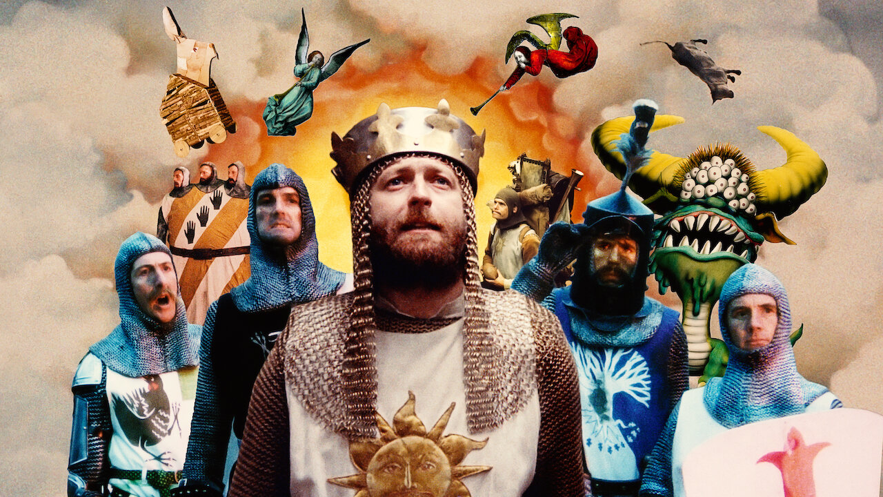 Monty Python and The Holy Grail - A original story covers the legend of King Arthur's search for the Holy Grail.