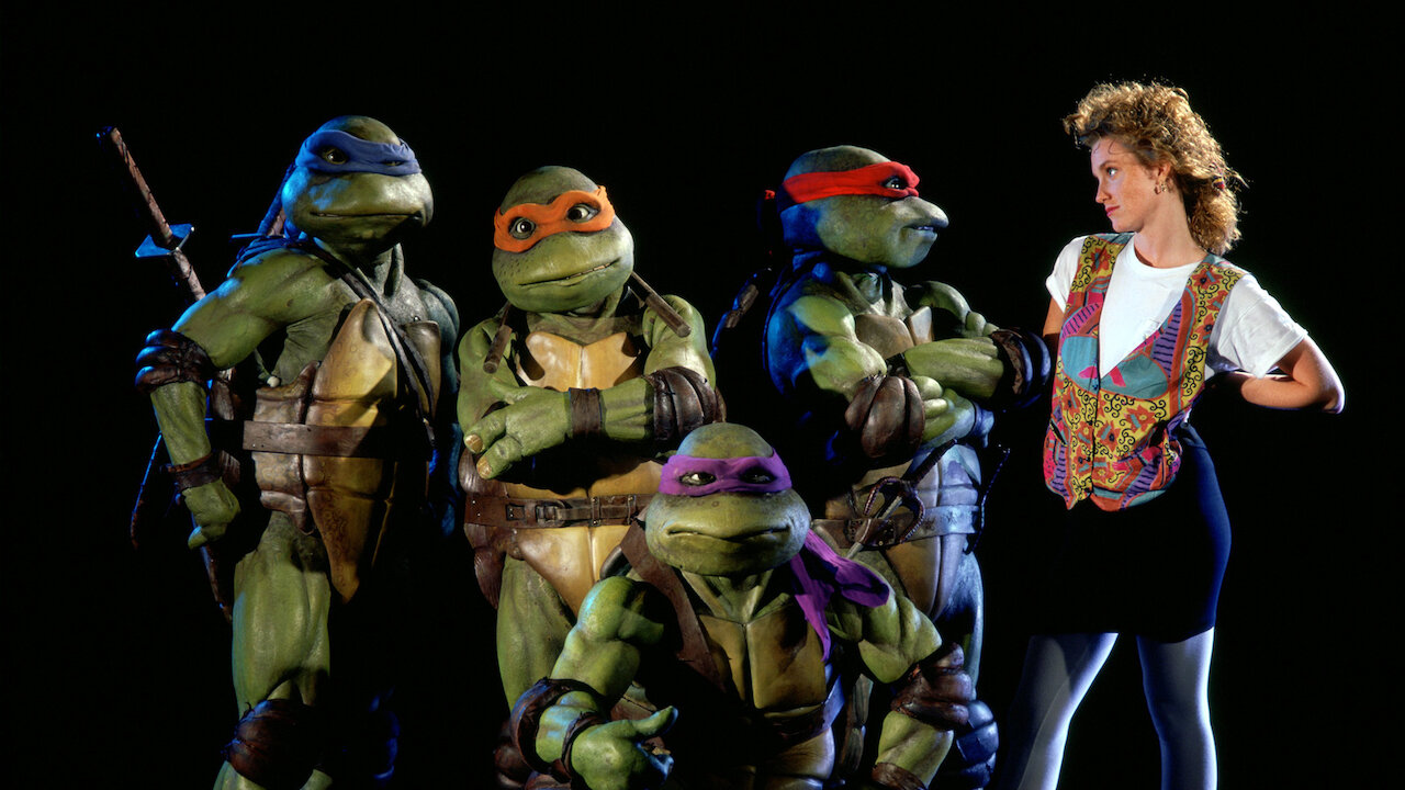 Teenage Mutant Ninja Turtles The Movie Netflix