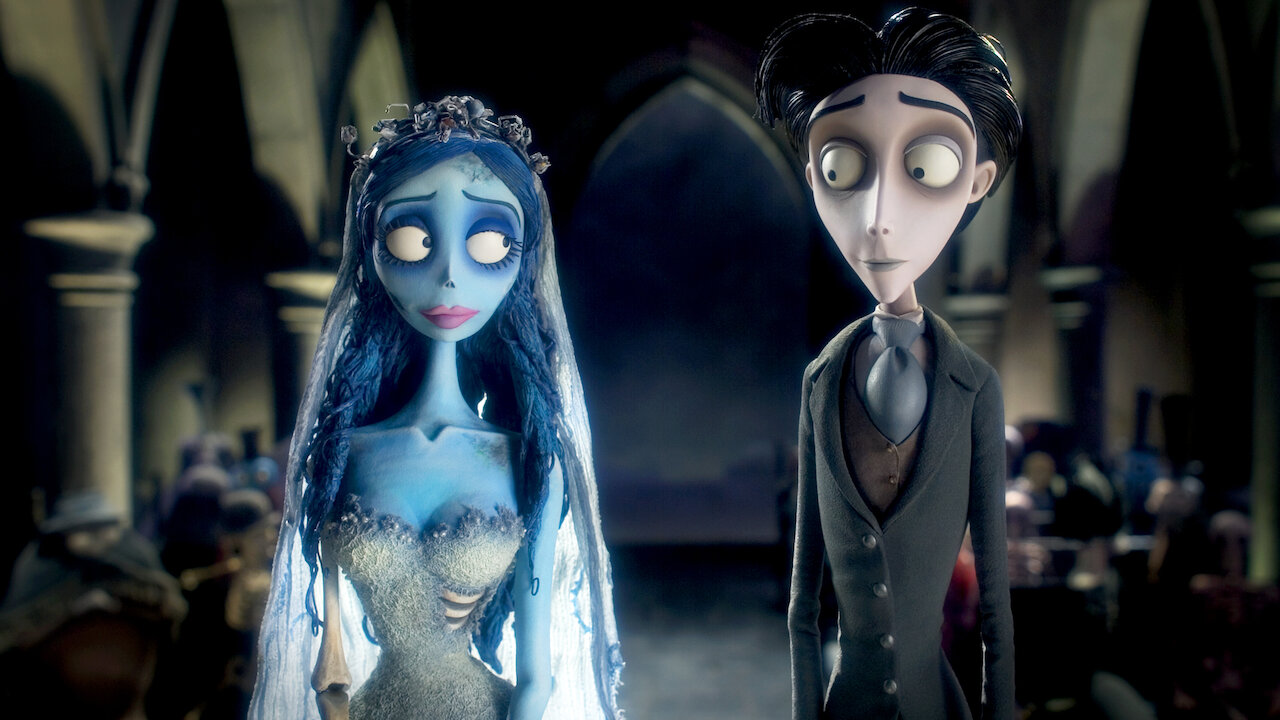 Protagonistas de La novia cadáver