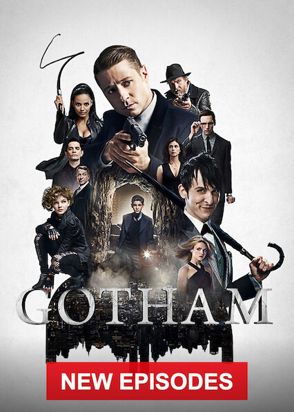 Gotham on Netflix USA