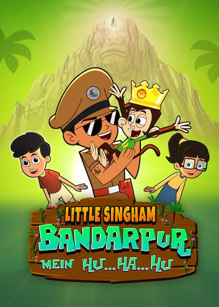 Little Singham Bandarpur Mein Hu Ha Hu on Netflix USA