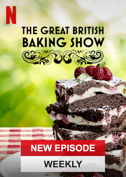 The Great British Baking Show on Netflix USA