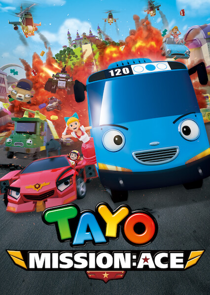 Tayo the Little Bus Movie: Mission Ace on Netflix USA