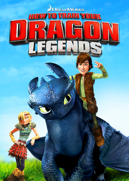 DreamWorks How to Train Your Dragon Legends on Netflix USA
