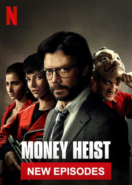 Is 'Money Heist' (aka 'La casa de papel') available to watch