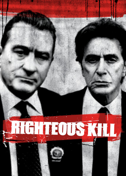Righteous Kill on Netflix USA