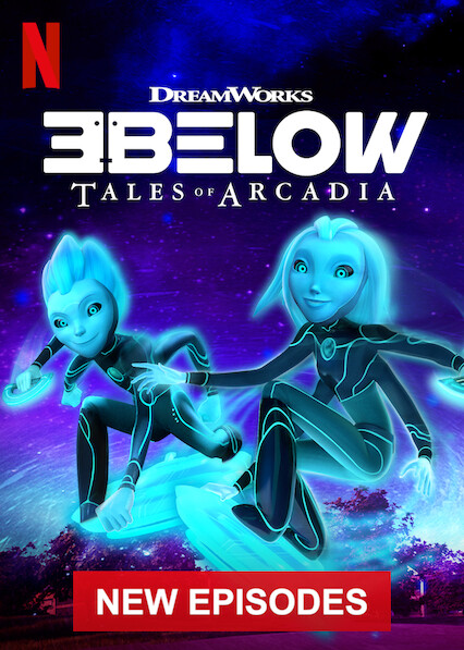 3Below: Tales of Arcadia on Netflix USA