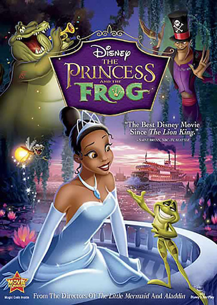 The Princess and the Frog on Netflix USA
