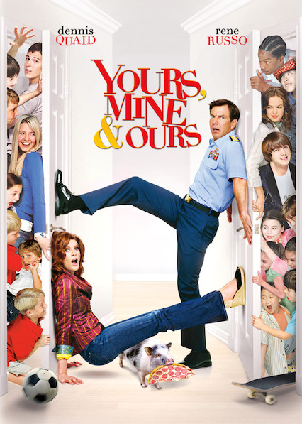 Yours, Mine and Ours on Netflix USA
