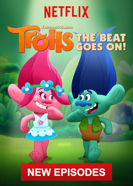 Trolls: The Beat Goes On! on Netflix USA