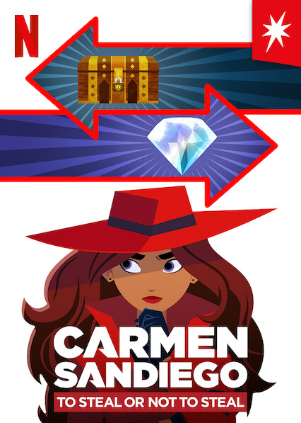 Carmen Sandiego: To Steal or Not to Steal on Netflix USA