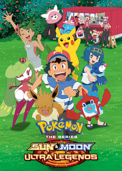 Pokémon the Series: Sun & Moon on Netflix USA